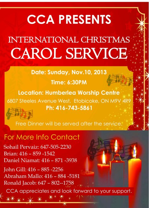 CCA Carol Service Flyerfinal