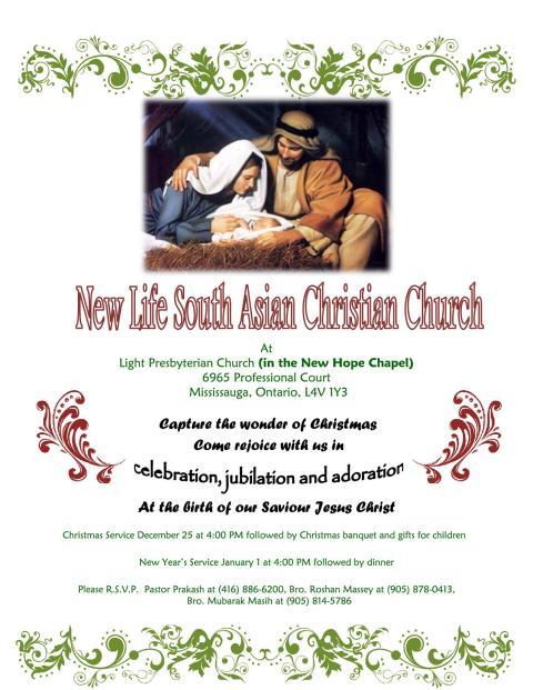 2012 Christmas Service