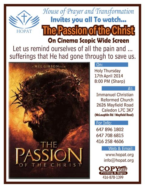 Passion of Christ(1)