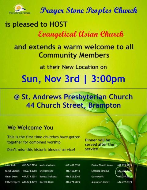 PSPC_Nov 3_New_Sunday Service