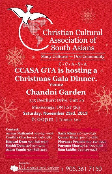 CCASA  GTA_CHRISTMAS GALA   NOV.23,2013