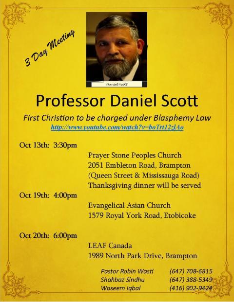 Daniel Scott Flyer